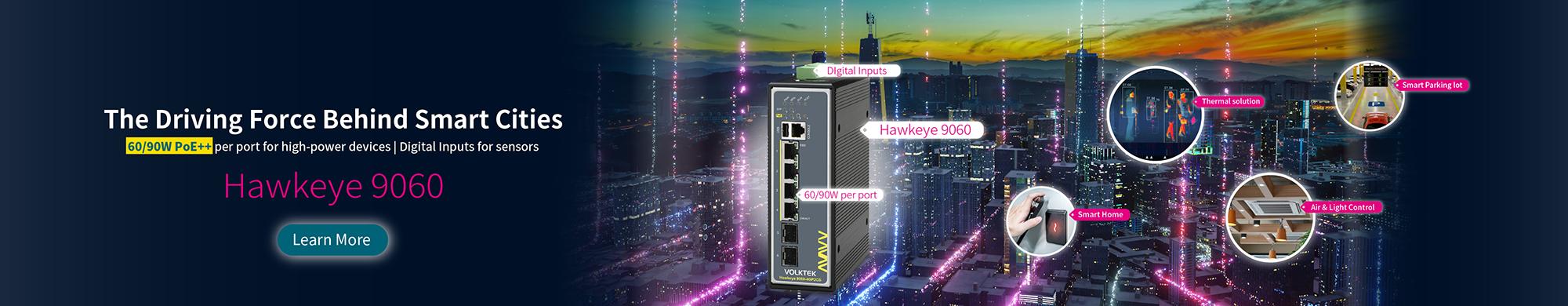 Smart City Solution Hawkeye 9060